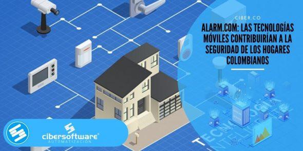 Alarm.com: las tecnologías móviles contribuirían a la seguridad de los hogares colombianos